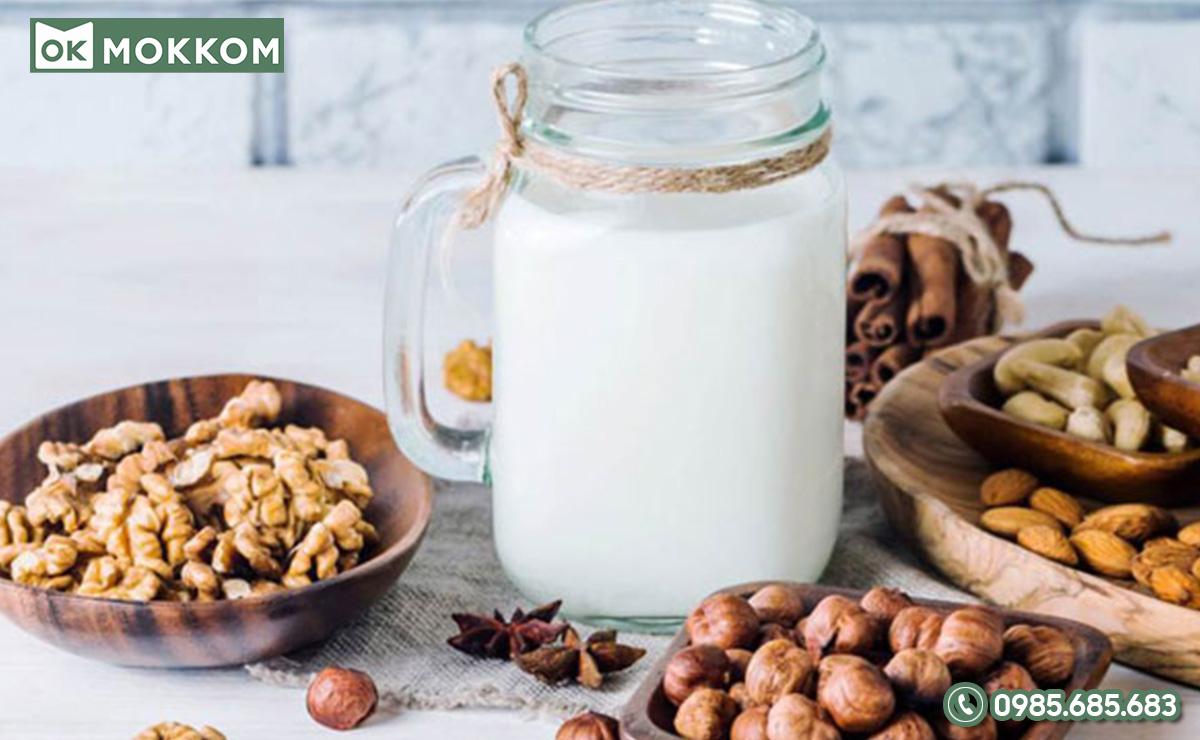 Không nên thay thế hoàn toàn sữa hạt bằng sữa hạt