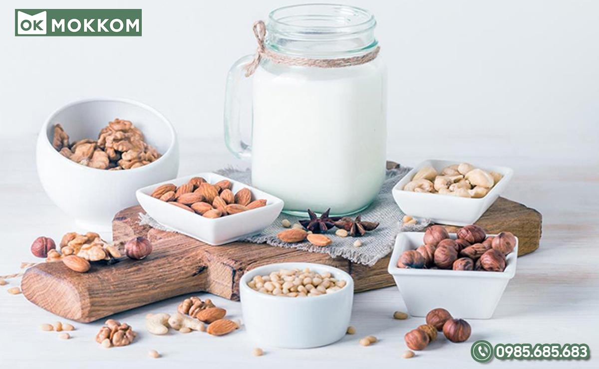 Sữa hạt vỏ cứng