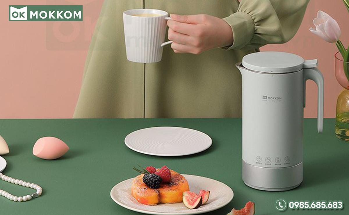 Cách sử dụng máy nấu sữa hạt Mokkom